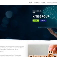 Restyling sito Kite Group