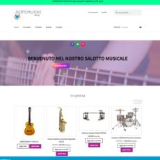Ecommerce Salotto Musicale Merizzi