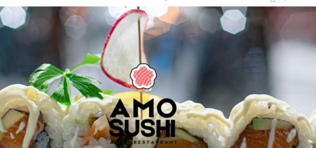Ristorante Amo Sushi – sito ecommerce e multilingue